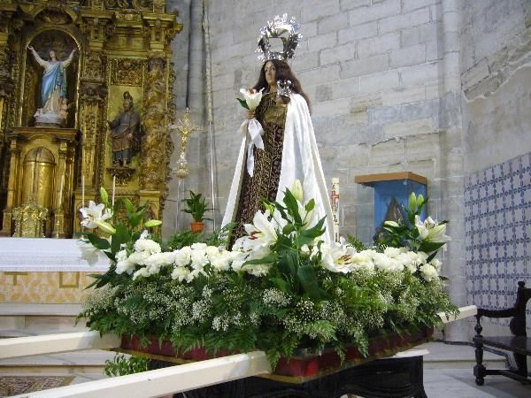 Virgen de Magallón en el Altar Mayor